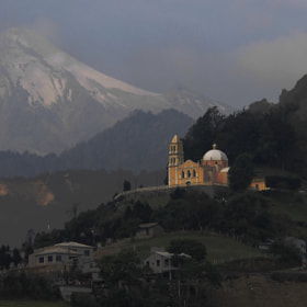 Volcano,  church and mountain by Alfredo Garciaferro Macchia (FredoGarciaferroMacchia)) on 500px.com