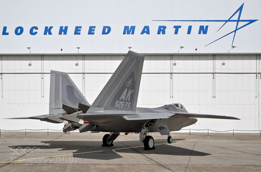 I was fortunate to receive an invitation from Lockheed Martin to photograph the USAF delivery ceremony for the final F-22A Raptor.
