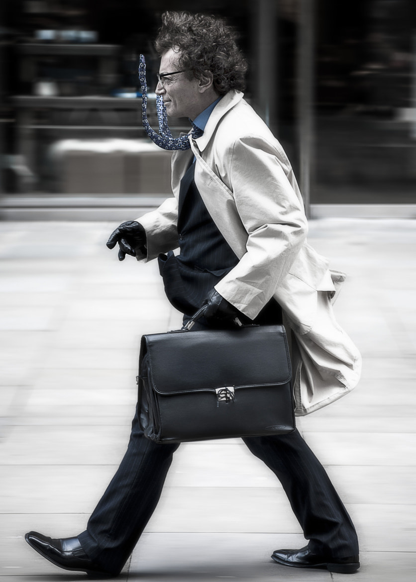 Photograph The Business Man by Dave Wood on 500px