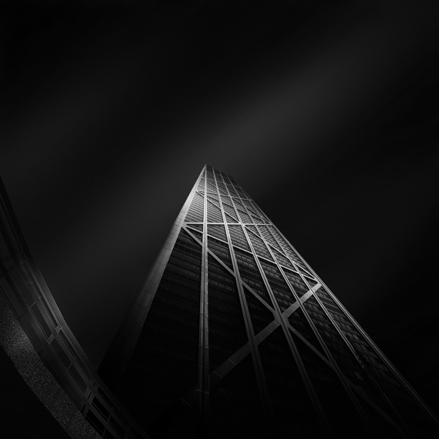 Photograph Angles of Light VII ~ John Hancock Center by Mabry Campbell on 500px