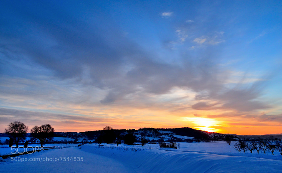 Tuscan Sunrise.