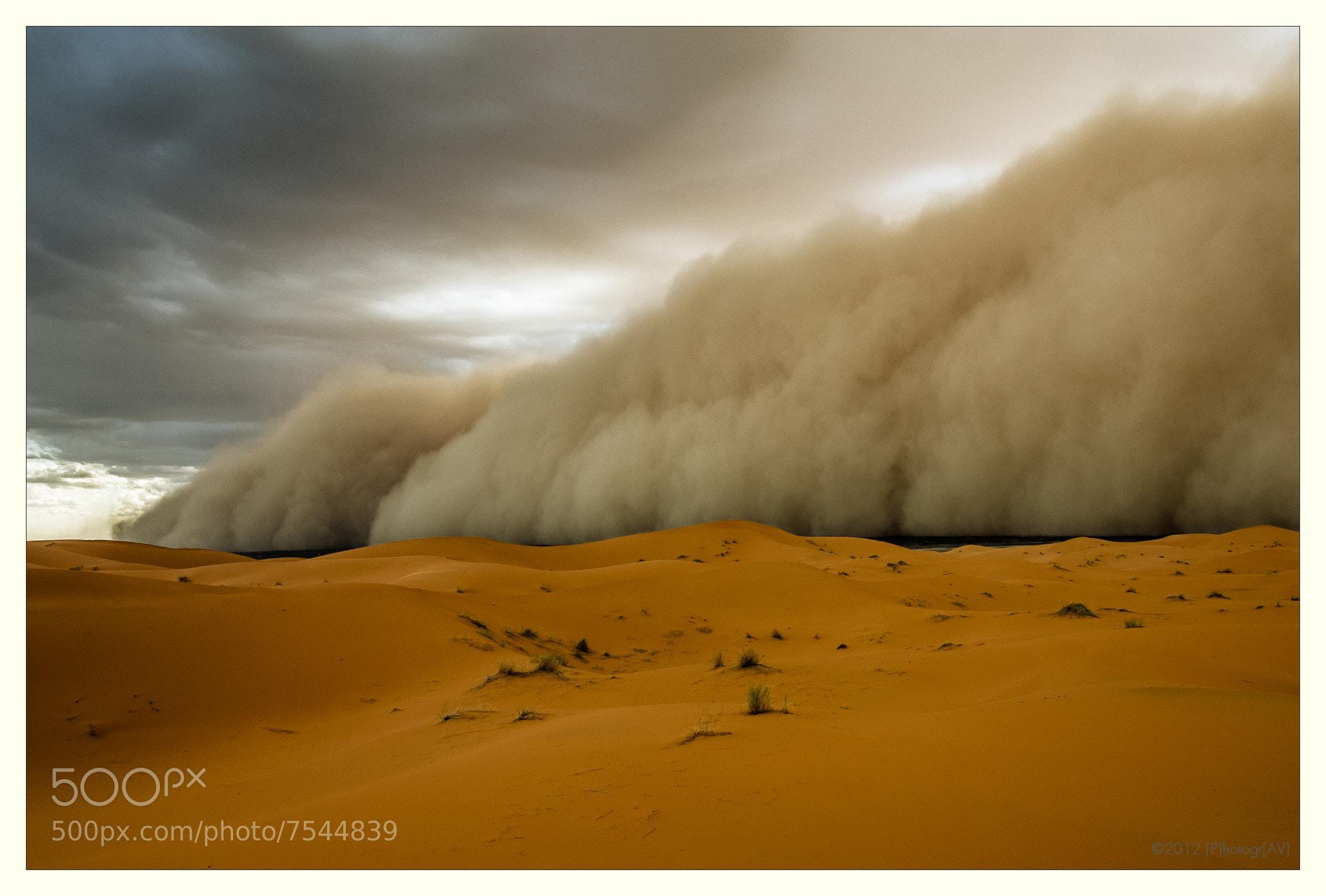 Photograph Sandstorm! by Peter Vruggink on 500px