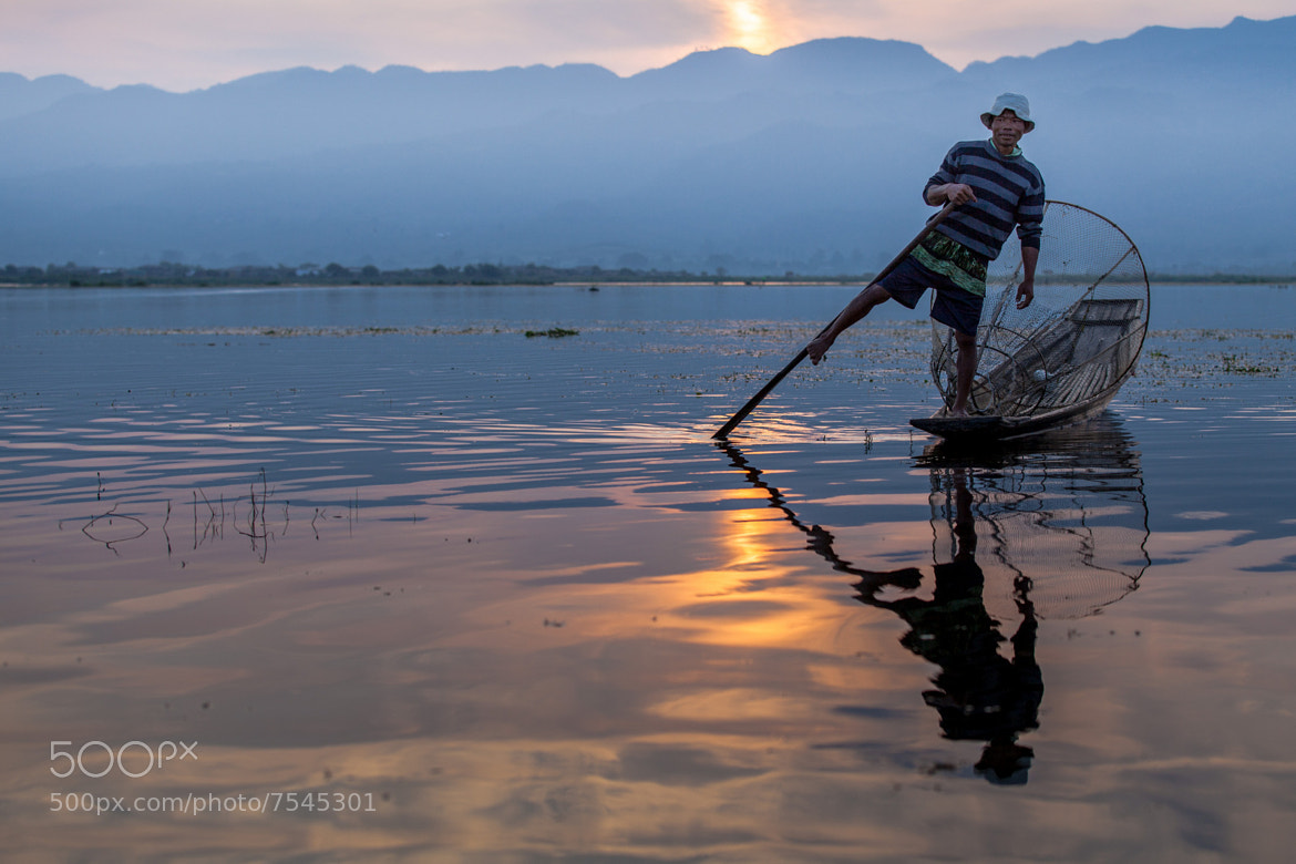 Photograph Morning on Inle lake by Gil Kreslavsky on 500px