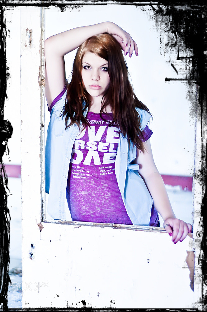 Photograph Purple fashion by Tibor Török on 500px