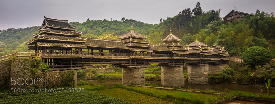 Photograph Chengyang Wind & Rain Bridge by Khanh Nguyen on 500px