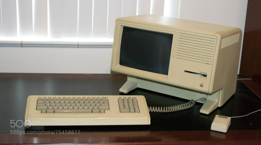 Photograph Apple Mac XL (1985) by Mike Maginnis on 500px