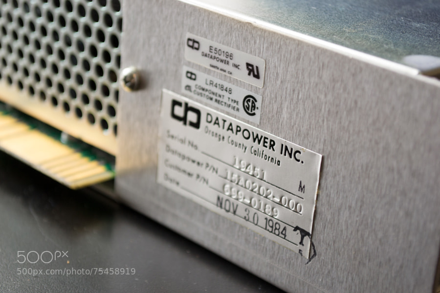 Photograph Apple Mac XL - power supply by Mike Maginnis on 500px