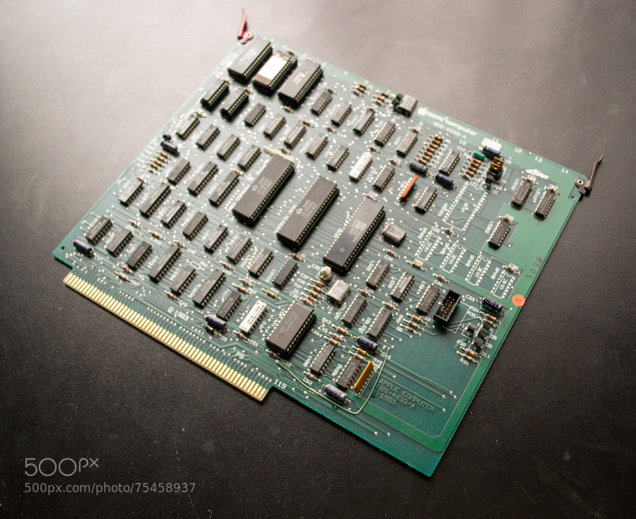 Photograph Apple Mac XL - System I/O board by Mike Maginnis on 500px