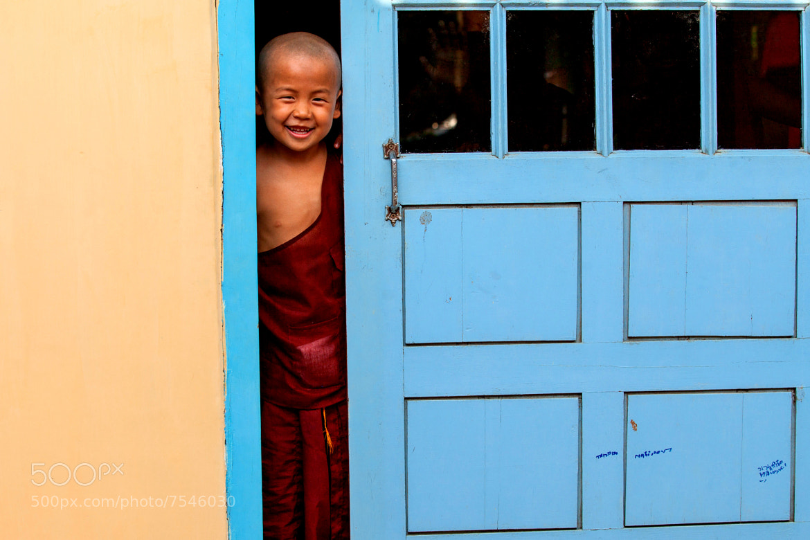 Photograph Little Monk by Gil Kreslavsky on 500px