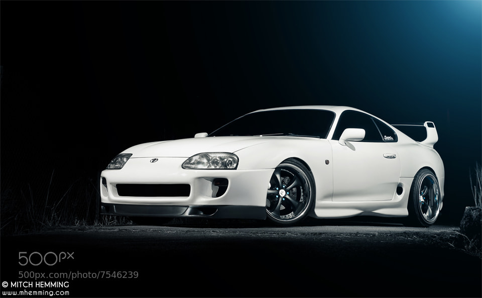 Photograph Toyota Supra by Mitch Hemming on 500px