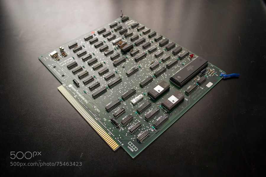 Photograph Apple Mac XL - CPU board by Mike Maginnis on 500px