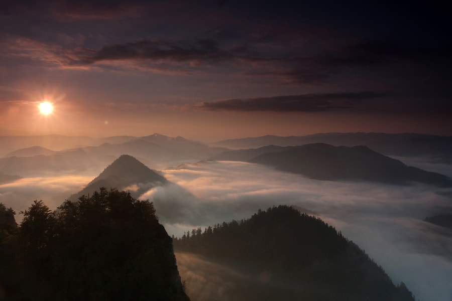 Photograph At sunrise by Marcin Sobas on 500px