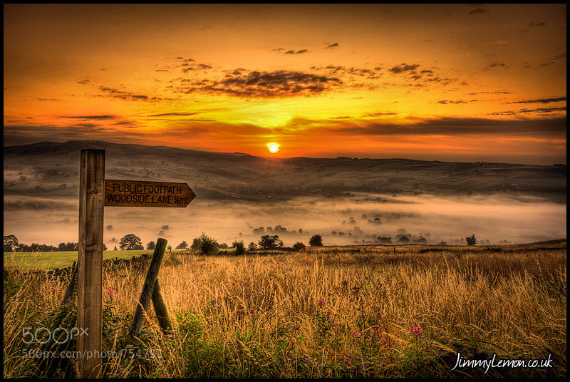 Photograph The Path To Sunrise by Tom Holmes on 500px