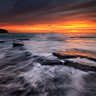 During an Easter weekend dawn shoot at Narrabeen, I was treated to an incredible sky. This image, for me, would be the stand-out image from the highly-productive session.
