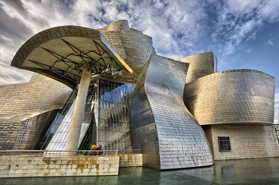 Photograph Guggenheim Bilbao 3 by fre Valenti on 500px