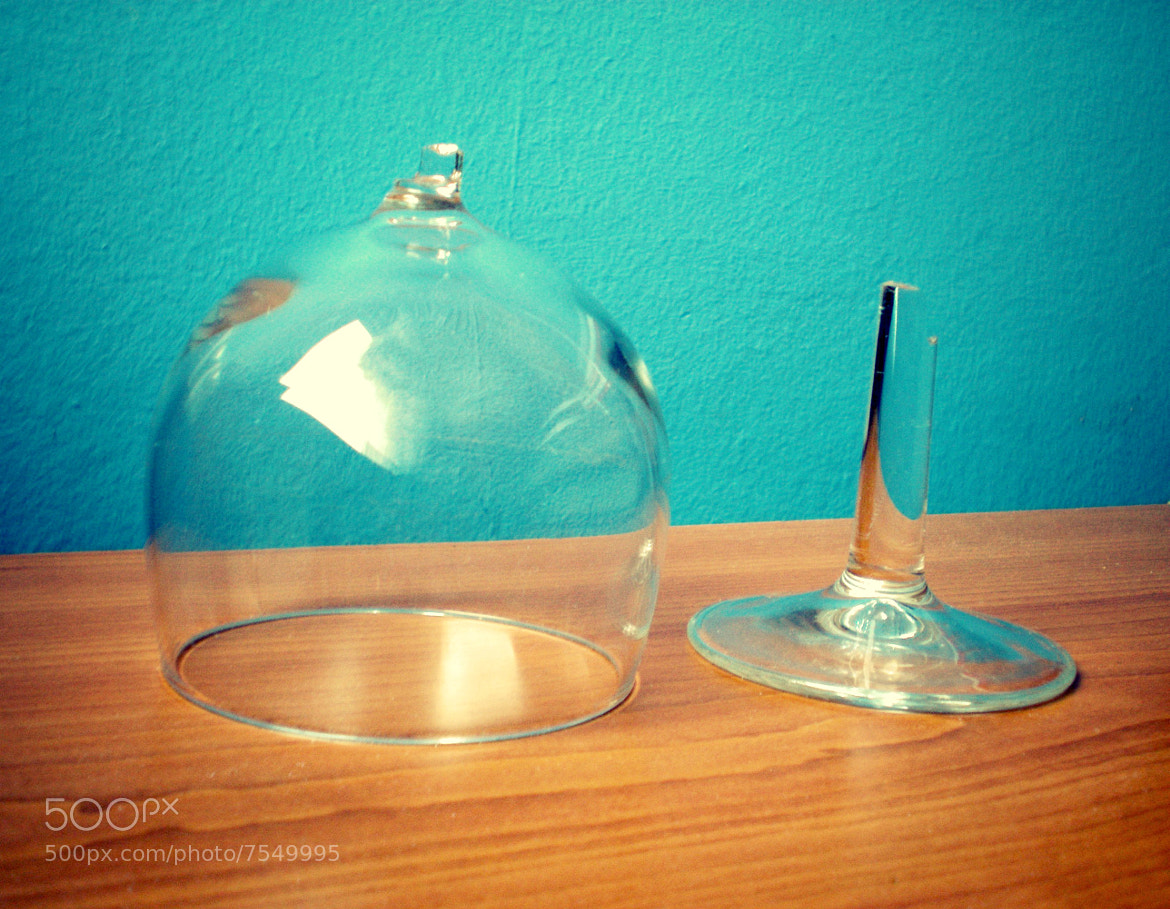Photograph Broken glass by Stefani Wannabe on 500px
