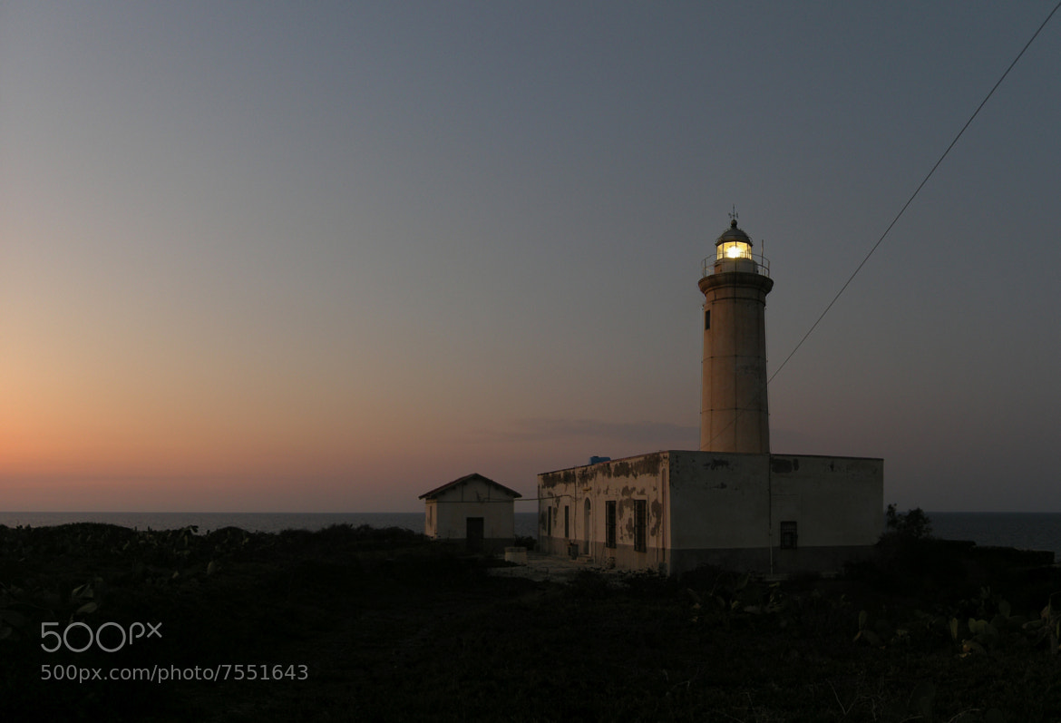 Photograph Faro Nel Crepuscolo by Marco Margherita on 500px