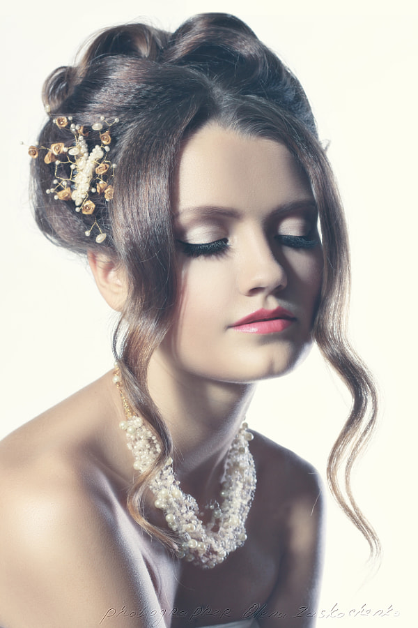 bridal fashion woman toning de Olena Zaskochenko sur 500px.com
