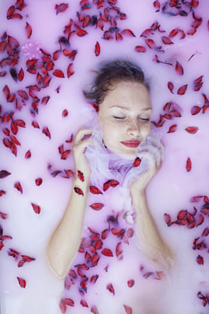Drowned in roses by Klassy Goldberg on 500px