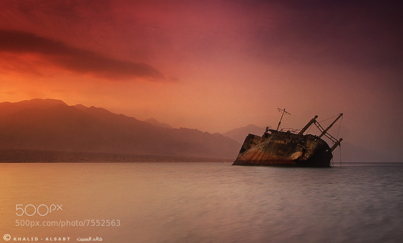Photograph Sunken ship by KHALID ALSABT on 500px