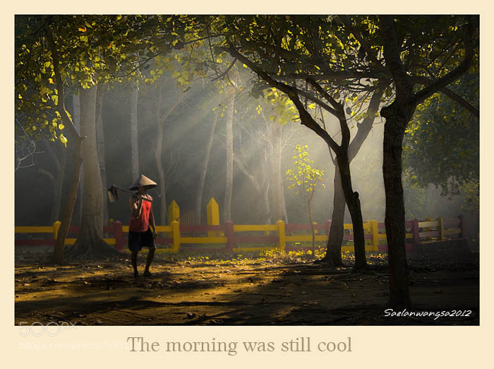Photograph The morning was still cool by Saelan Wangsa on 500px