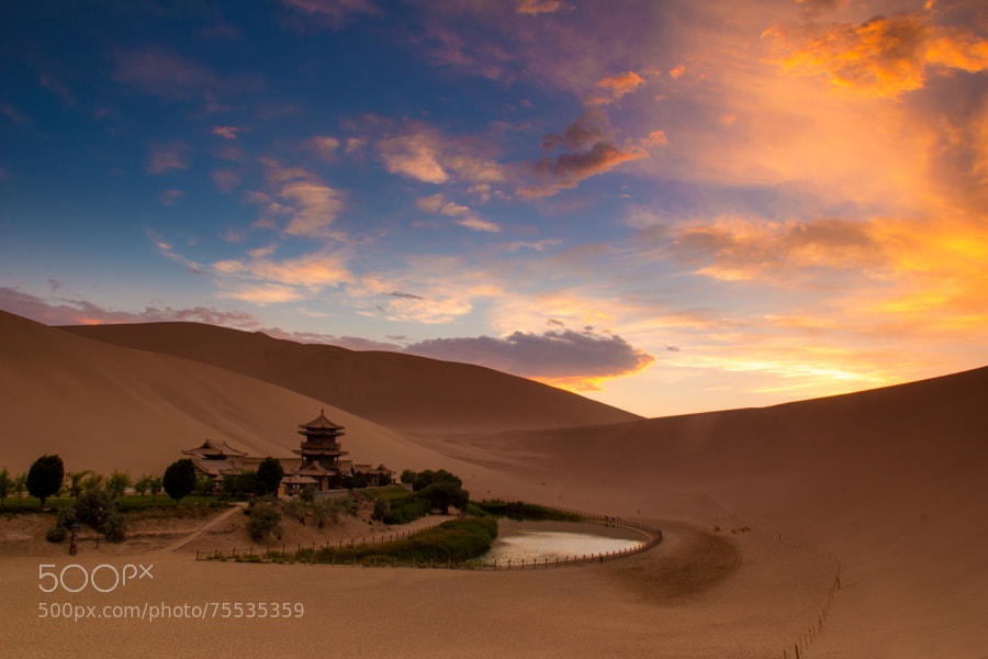 Photo by travel photographer Brendan van Son: China. Dunhuang