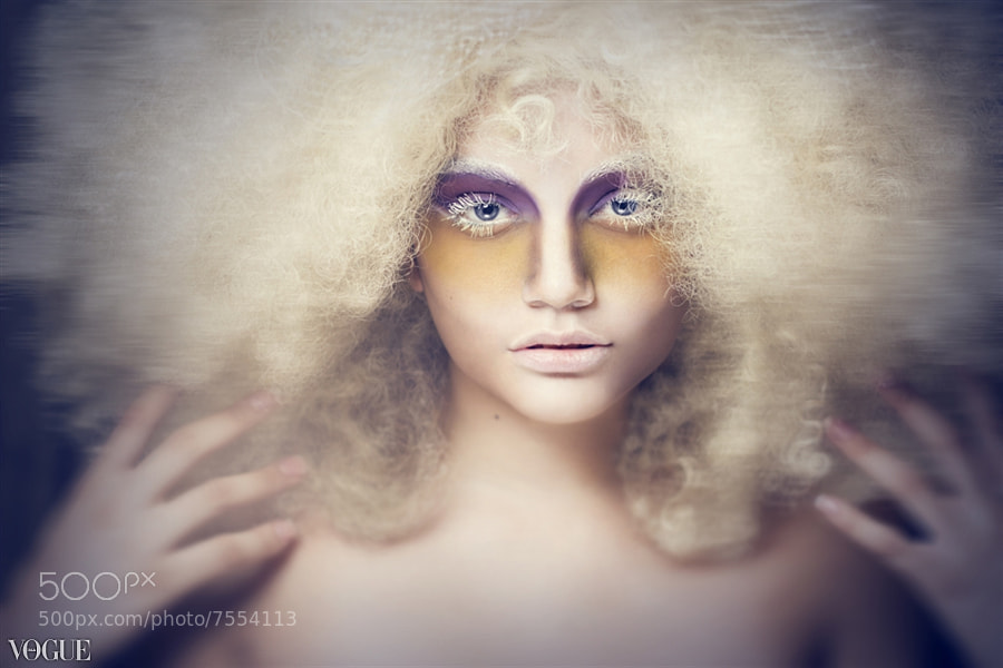 Photograph Albino Girl II by Alexander Pompa on 500px