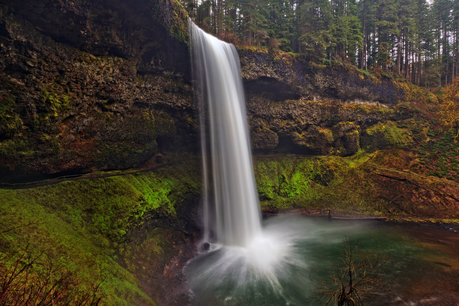 Photograph Silver falls by Helminadia Ranford on 500px
