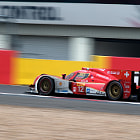 Постер, плакат: No 12 Rebellion Racing Lola B1260 Toyota FIA WEC Silverstone