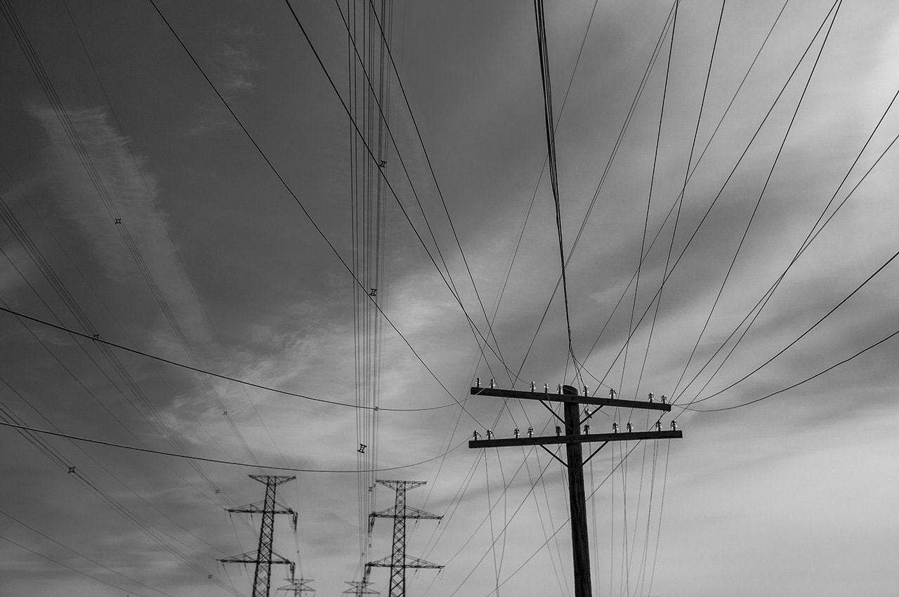 Photograph Power Lines 1 by Chris Ellison on 500px