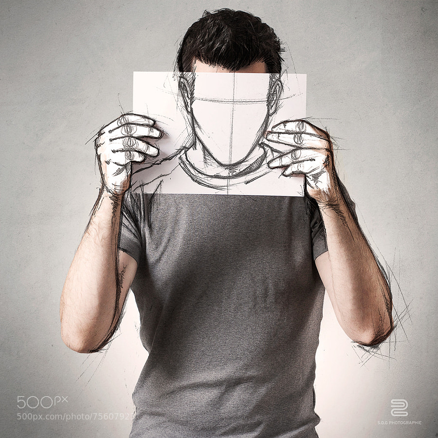 Photograph Anonymous Sketch by Sébastien DEL GROSSO on 500px