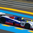 Постер, плакат: No 18 Aston Martin AMR1 Group C Le Mans 24 Hours 2014