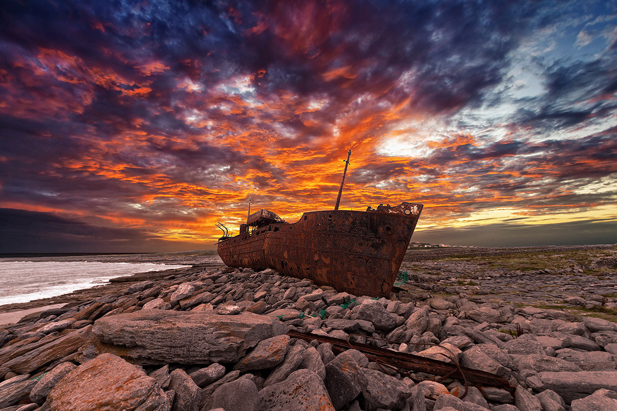 Photograph Iniss Oirr by Emilio Calamida on 500px