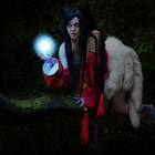 Постер, плакат: Ahri The nine tailed Fox
