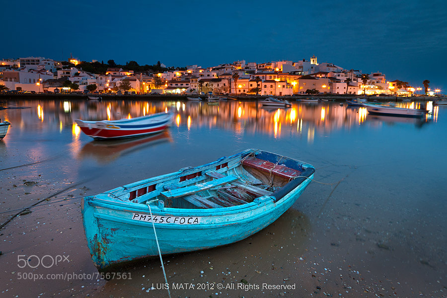 Photograph Ferragudo at dusk by Luis Mata on 500px
