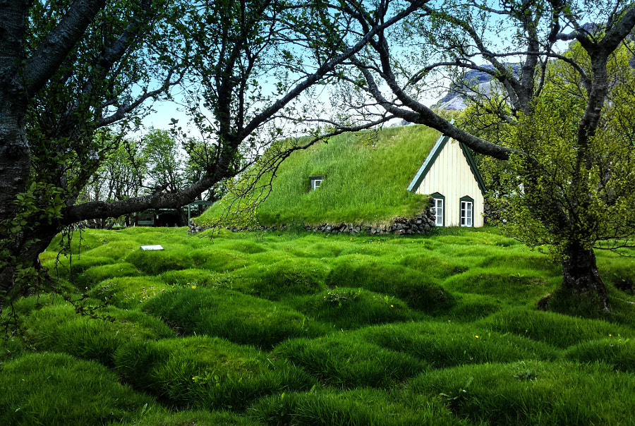 The Old Viking-Graveyard @ Iceland by Lillian Molstad Andresen on 500px.com