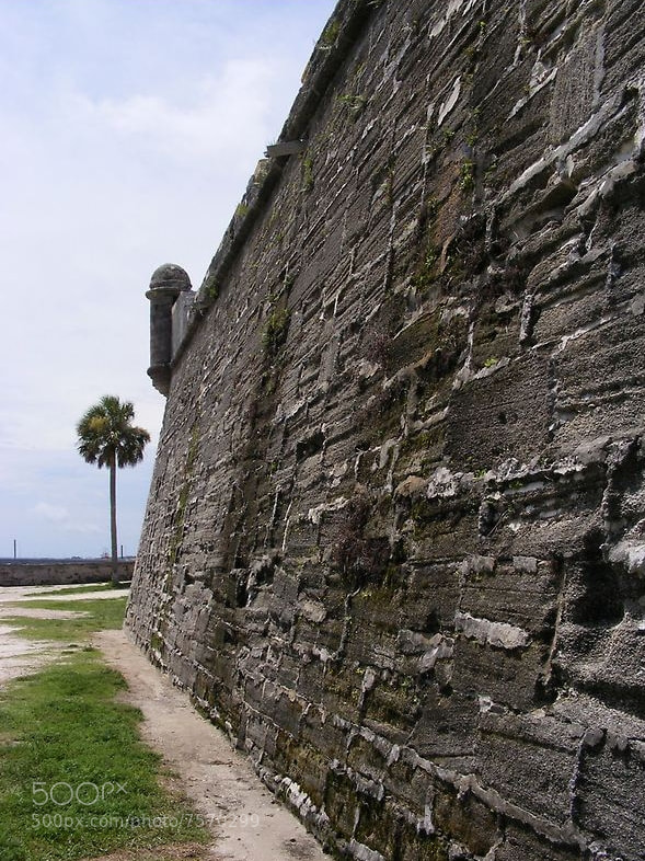 Photograph Fort Castillo de San Marcos , St. Augustine , Florida by Jim Wilson on 500px