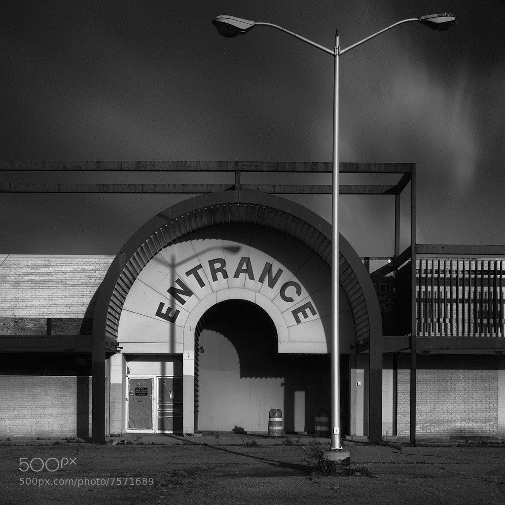 Photograph entrance by Brian Day on 500px