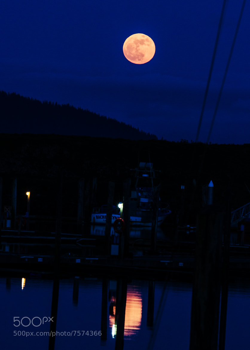 Photograph Super Moon Over the Moon by Mark Bergeron on 500px