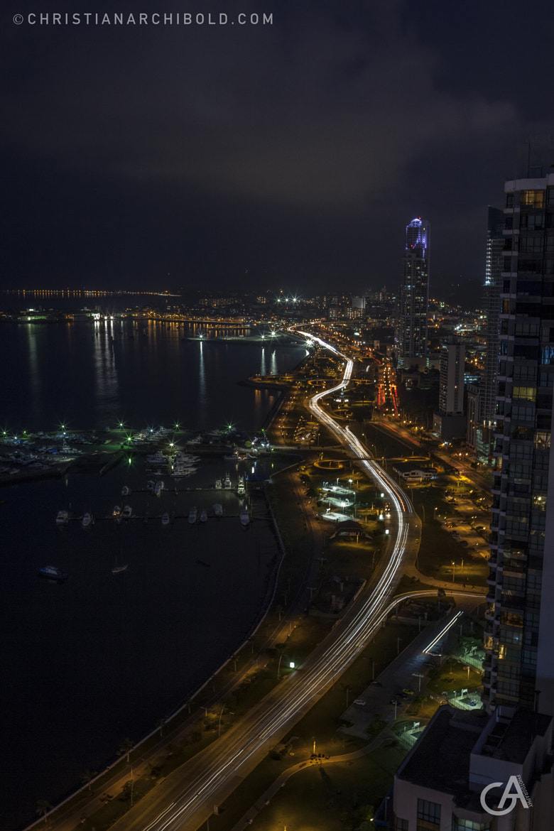 Photograph Panama City at Night by Christian Archibold on 500px