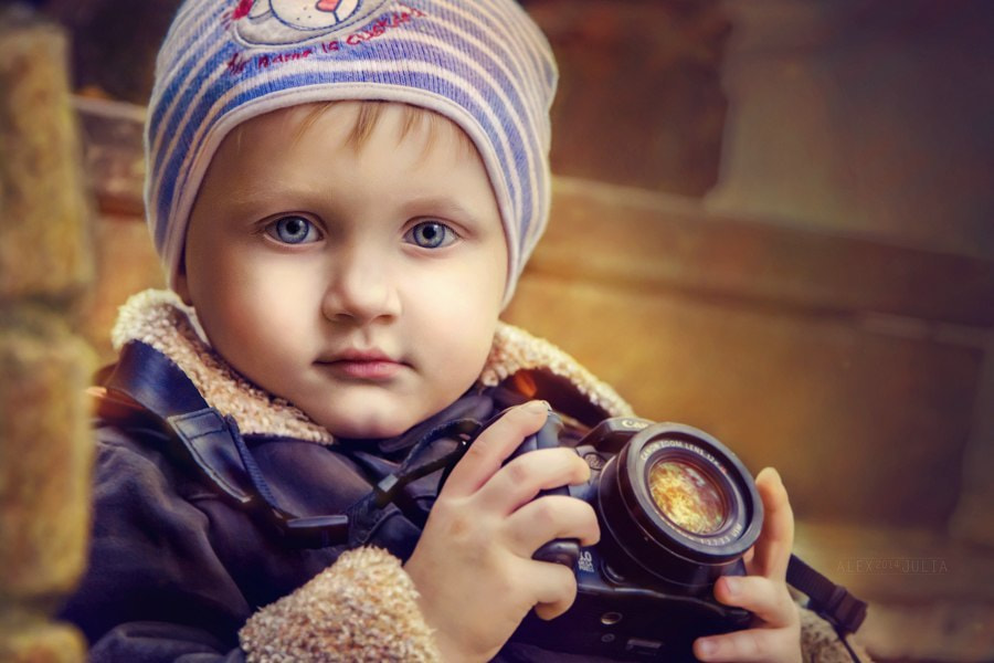 Photograph Bright World in Small Photographer's Camera by Julia Happy on 500px