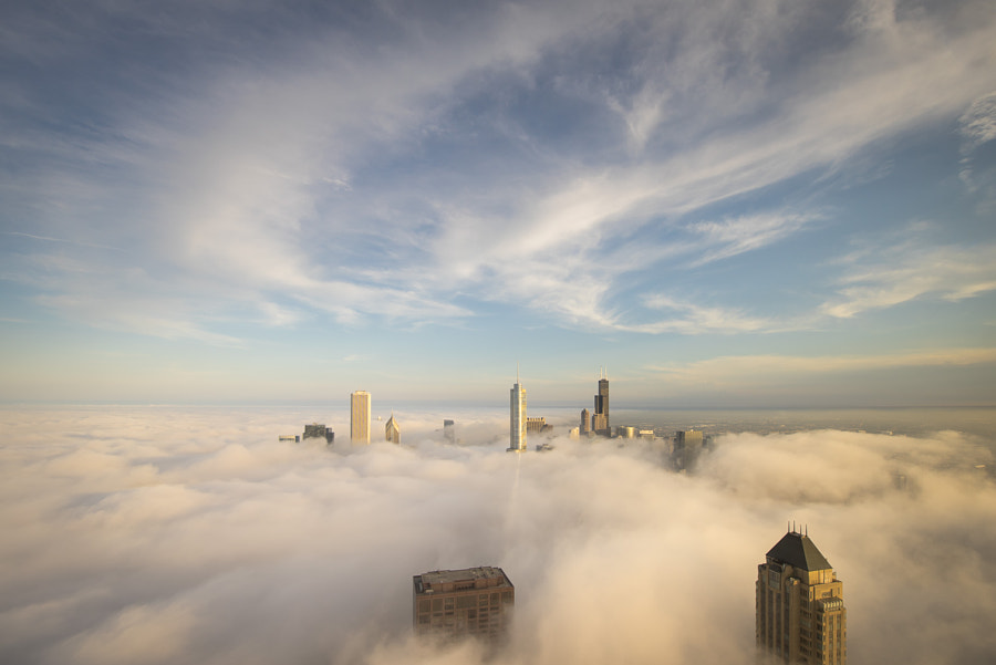 Photograph Cloud City - Chicago by Peter Tsai on 500px