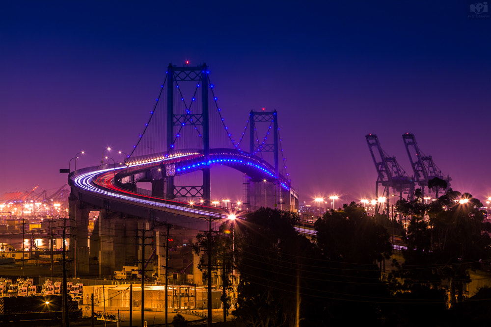 Photograph Vincent Thomas Bridge by Nhut Pham on 500px