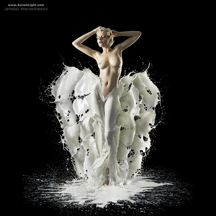 Photograph The Milky Dress by AurumLight Team by Jaroslav Wieczorkiewicz on 500px