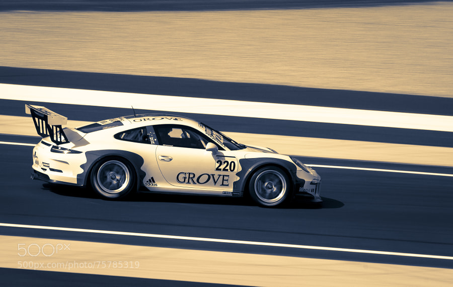 Photograph 24H00 du Mans - Carrera Cup - S. Grove by Cyril Fontaine on 500px