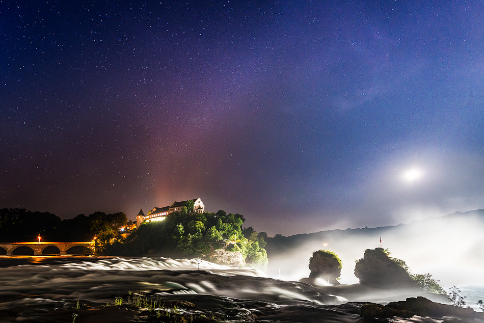 Photograph Last night at the Rhine Falls by Reto Savoca on 500px