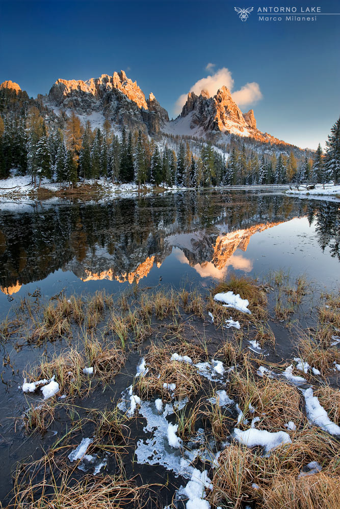 Photograph Antorno Lake by Marco Milanesi on 500px