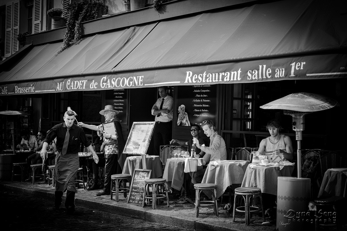 Photograph Restaurant at Montmartre Paris by Dyna Seng on 500px