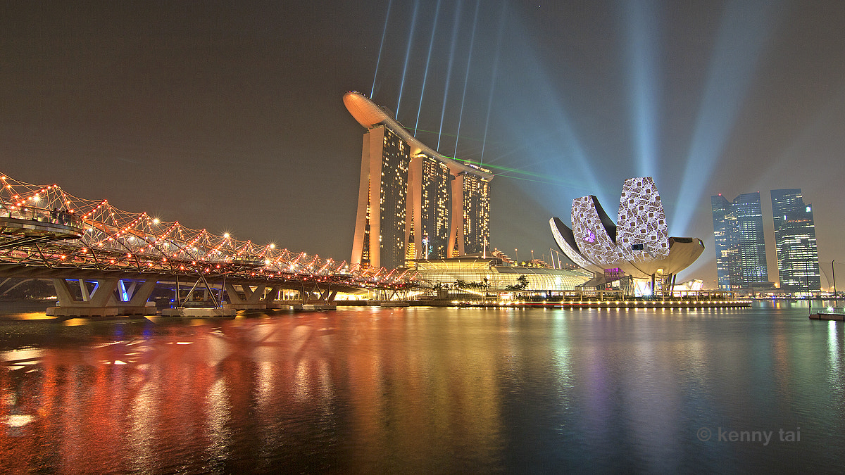Photograph Marina Bay Sands by Kenny Tai on 500px