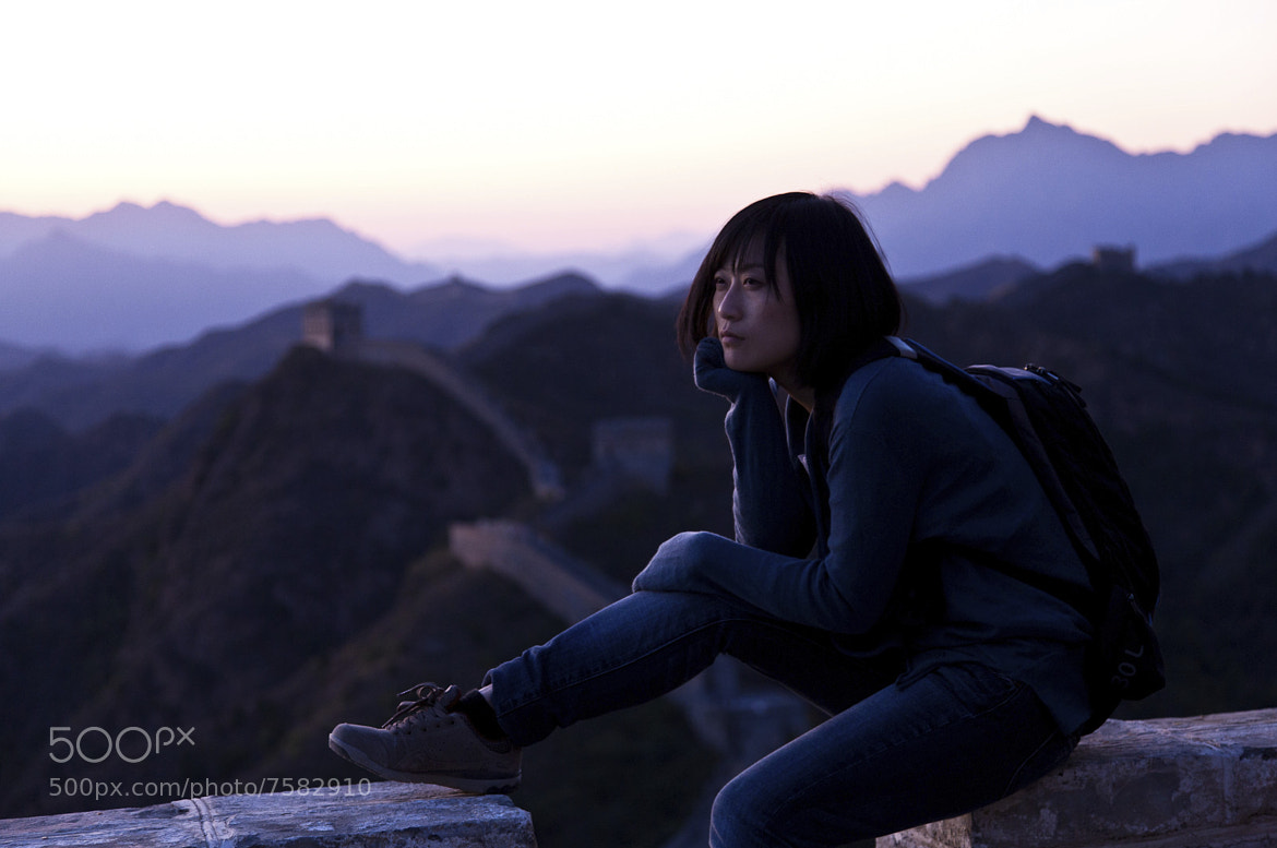 Photograph traveler on the Wall by Marton Apai on 500px